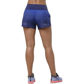 """asics 3,5"""" Shorts Print Spodenki do biegania Kobiety niebieski"""